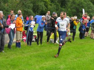 France's Thierry Gueorgiou takes his third consecutive Long title WOC2015, Grahame Nicoll