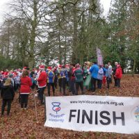 At the start - Christmas event 2016 Drummond