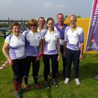 The TAY team at Falkirk Wheel