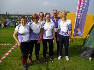 The TAY team at Falkirk Wheel,