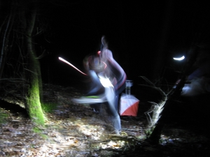 Night orienteering!, Grahame Nicoll