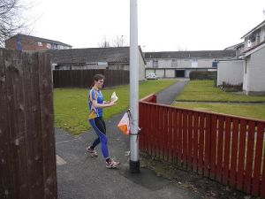 Negotiating the path network in North Muirton,