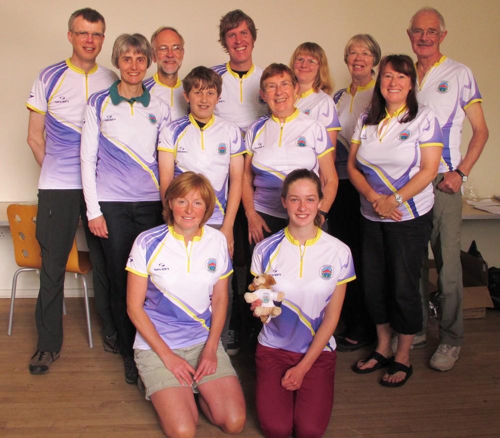 The new club orienteering top!
