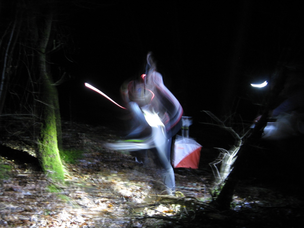 Night orienteering!